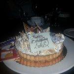 Luke's cake ordered by Mario