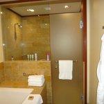 Shower  1 bdrm Canopy Suite
