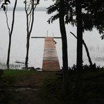 Lake Petan Itza swimming access