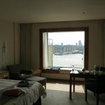 River View room overlooking Spa and The Shard in the background