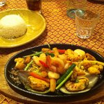 Plat seafood