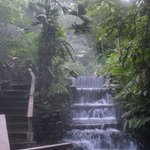 Natural hot springs pools