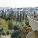 Rooftop view of Jerusalem