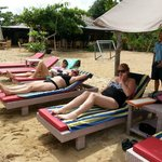 Beach Club - Fabulous service, gorgeous, warm beach, prompt bus service for the 2 min trip.