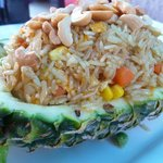 Pineapple fried rice at THB 180.00