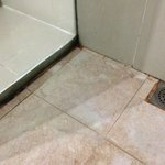mouldy tiles in bathroom