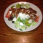 Hernando County's Best Greek Salad w/ Added Crispy Chicken  $11.99