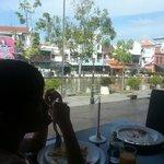 breakfast~ nice view