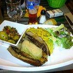 Malgré au foie gras et c est pomme de terre provincale