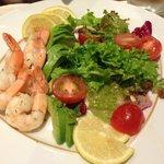 Salad at Pergolas Restaurant