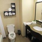 Quite spacious bathroom