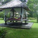 Gazebos for spa at garden