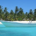 barca en isla saona