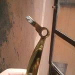 broken window handle just comes of