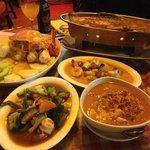 A Thai feast!!