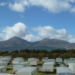The views from the caravan park.