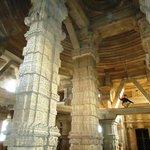 inside sas-bahu temple