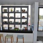 Kleine Küche in jeder Etage zur allgemeinen Nutzung