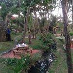 restaurant in garden