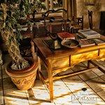 Mesa del maitre del Restaurante El Palasiet