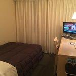 標準的なビジネスホテルの客室