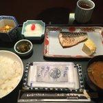 朝食は1050円。洋食も選択可能。
