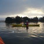 This is me! Kayaking! On the Lake!