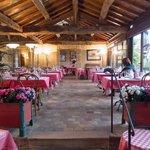 Rear conservatory restaurant