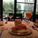 Breakfast at Serena Hotel