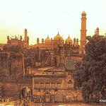 Badshahi Mosque from the Lahore Fort