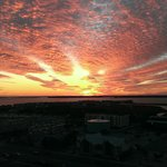 Sunset over Ocean CIty