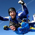 Tandem skydiving is perfect for first timers. At Skydive Langar