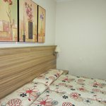 Simple foam mattress with chintzy designs