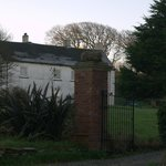 View of the house from Rame Lane
