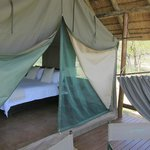 Glamping in style in the African bush