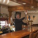Sit down bar at Phelps Barn Pub