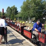 """The train is ready to depart...""""all aboard!!!!""""."""
