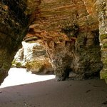 Sea Cave at the end of Coon Creek Beach