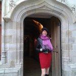 Doorway of Tourist Information Office, Lille