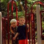 Playground at the zoo