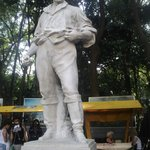 Tenente Siqueira Campos (Estátua em frente ao Parque Trianon)