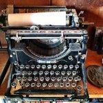Henry Miller's typewriter