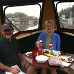 Breakfast on a Lockmaster Canal Boat!