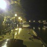 Canal Boat Seneca nestled in at Seneca Falls!