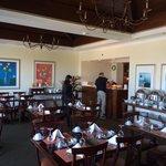 Breakfast room on club level