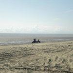 Kenai beach cruizing on ATV's