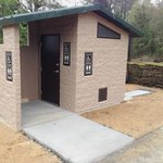 New restroom at bay Lake trail head, Same at Polk City th