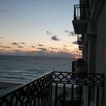 Sunrise from room 618