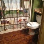 Quaint bathrooms