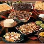 Self Serve taco bar available for Catering